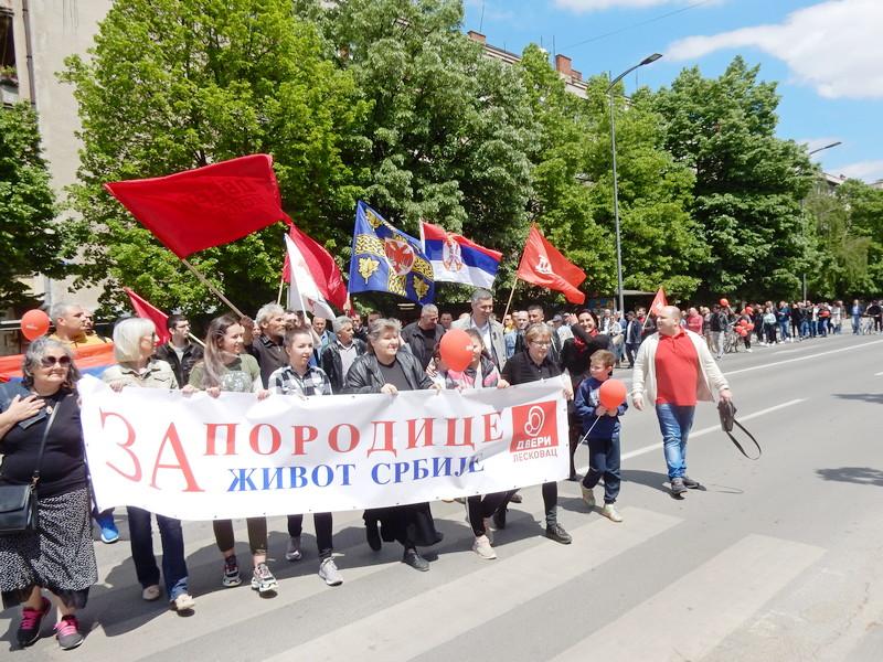 Obradović u Porodičnoj šetnji Dveri najavio promene iz Leskovca (video)