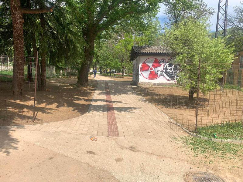 Revoltirani stalnim odlaganjem građani samoinicijativno otvorili Gradski park