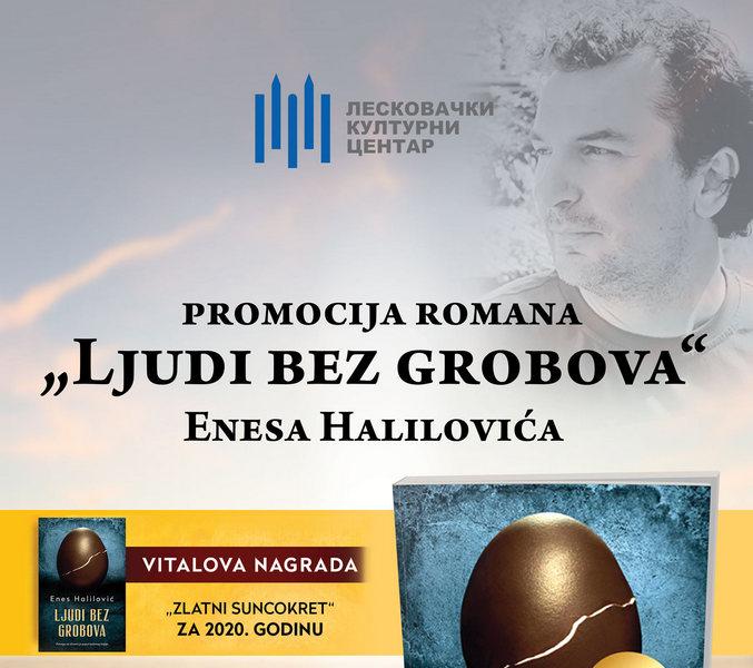 """Promocija romana """"Ljudi bez grobova"""" sutra u LKC-u"""