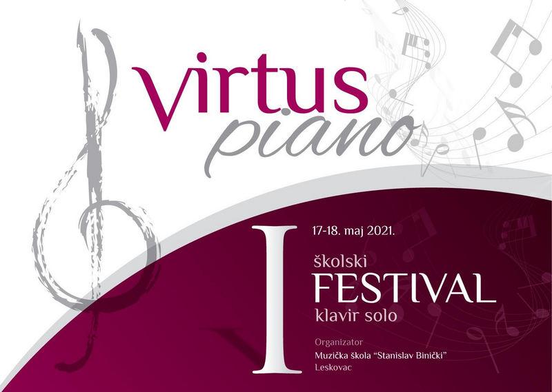 "Festival ""Virtus piano"" u Leskovcu"