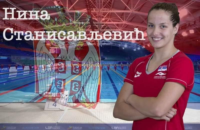 Nina Stanisavljević vicešampionka Evrope na juniorskom prvenstvu u Rimu