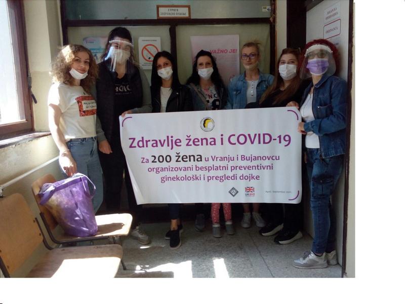 Tim SOS telefon iz Vranja organizuje preventivne preglede za žene