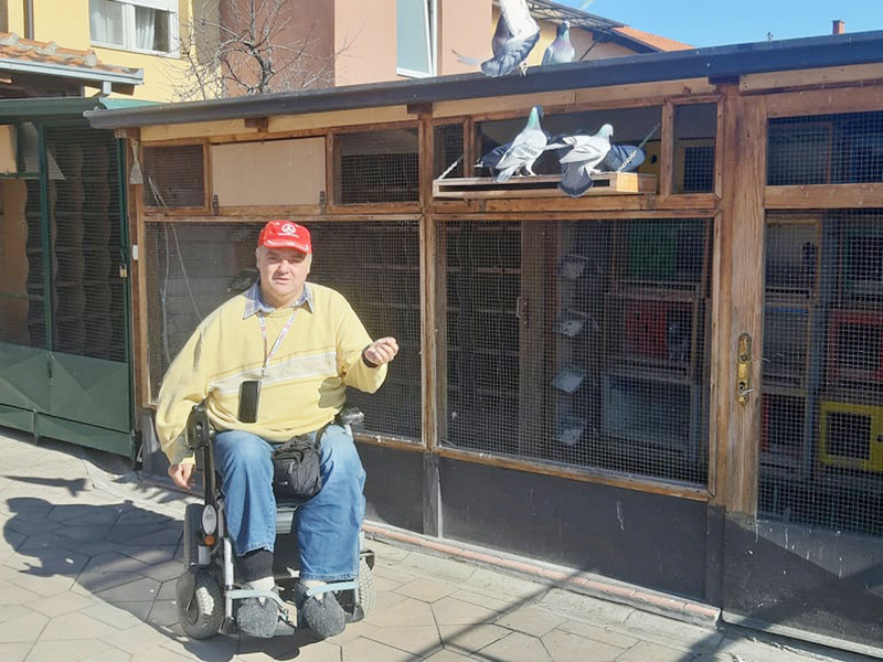 Masovnoj imunizaciji odazvali se i članovi Udruženja osoba sa paraplegijom