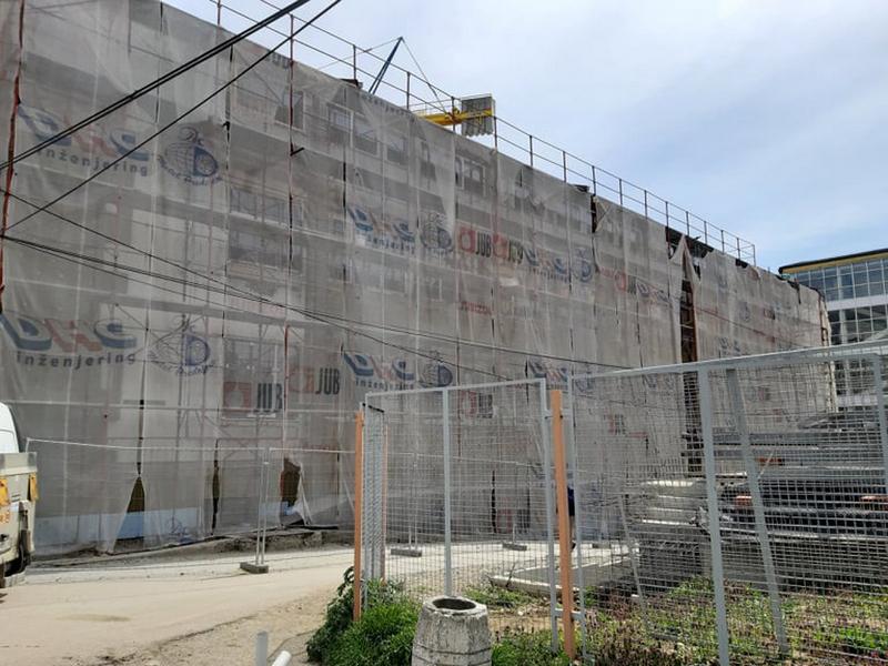 Počeli radovi na rekonstrukciji lamele C vranjske Bolnice