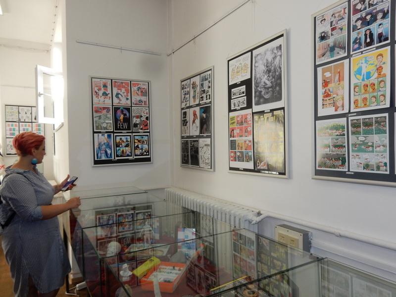 Premijerna izložba Balkanskog ženskog stripa još dostupna u leskovačkoj biblioteci