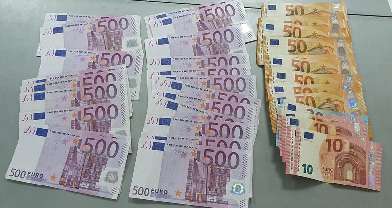 Za vikend zadržano 60.000 neprijavljenih evra