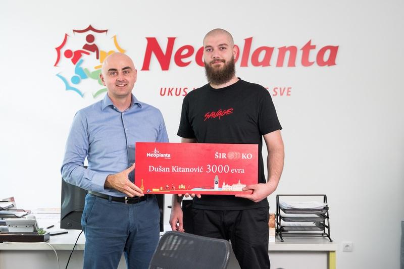 Grafički dizajner Dušan Kitanović iz Leskovca dobitnik nagrade od 3.000 evra