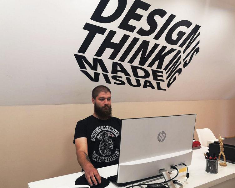 Novosadska Neoplanta nosiće logo mladog dizajnera iz Leskovca