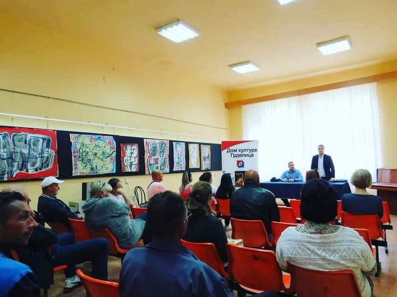 Predavanje o maloletničkim brakovima i posledicama istih održano u Grdelici