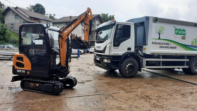 JKP Grdelica kupila novo vozilo i isplatila sve zaostale zarade radnicima, novi kamion i za PWW