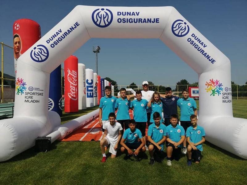 Jedinstvo iz Bošnjaca treće na Coca-Cola kupu