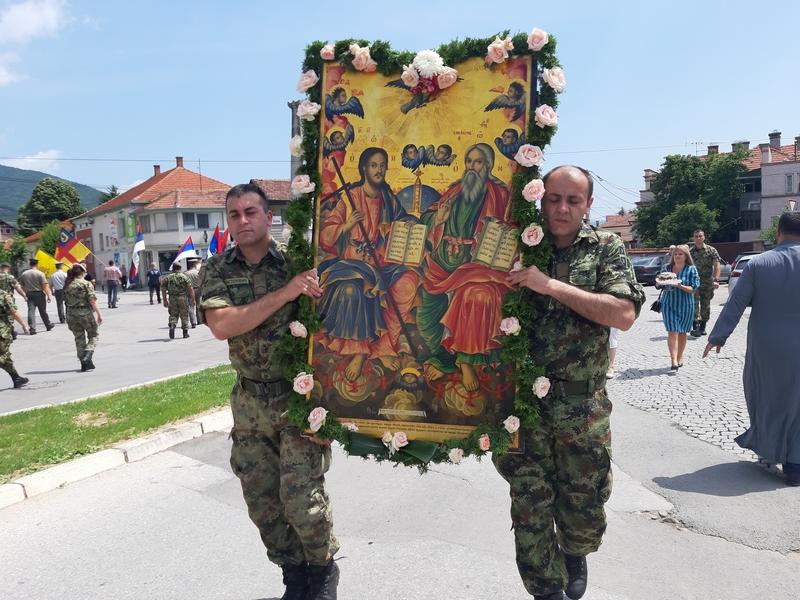 Liturgija, litije i trpeza ljubavi na dan gradske slave Vranja