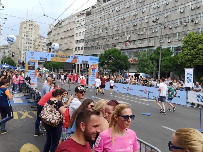 Ćuković 18. na Beogradskom maratonu