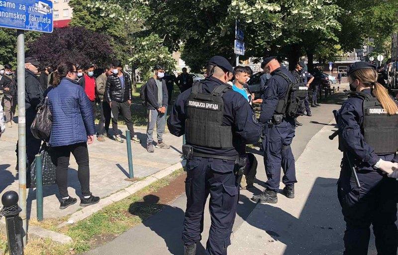 U Prihvatni centar Preševo smešteno još 107 ilegalnih migranata