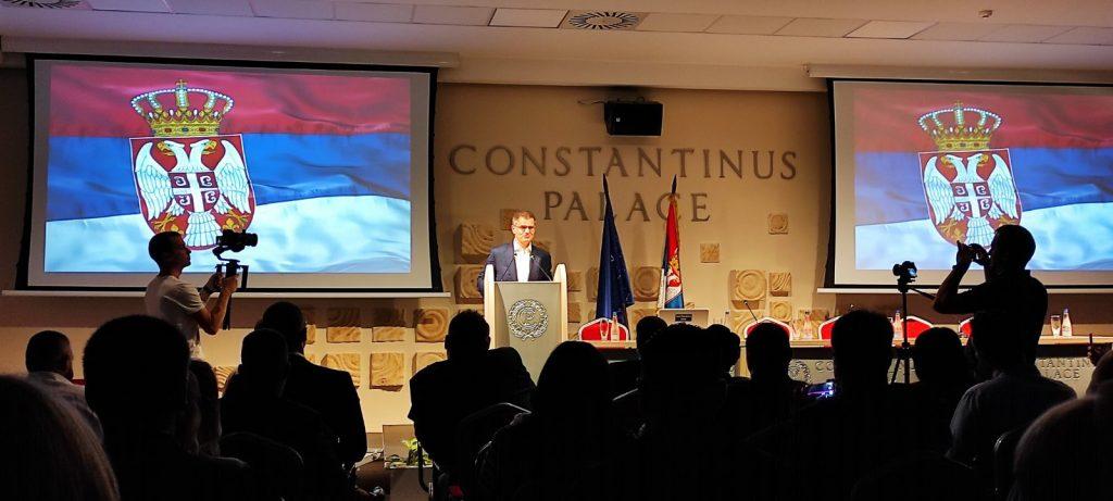 Jeremić u Nišu: Revanšizam podrazumeva trajnu zabranu SPS, SNS i Pink televizije