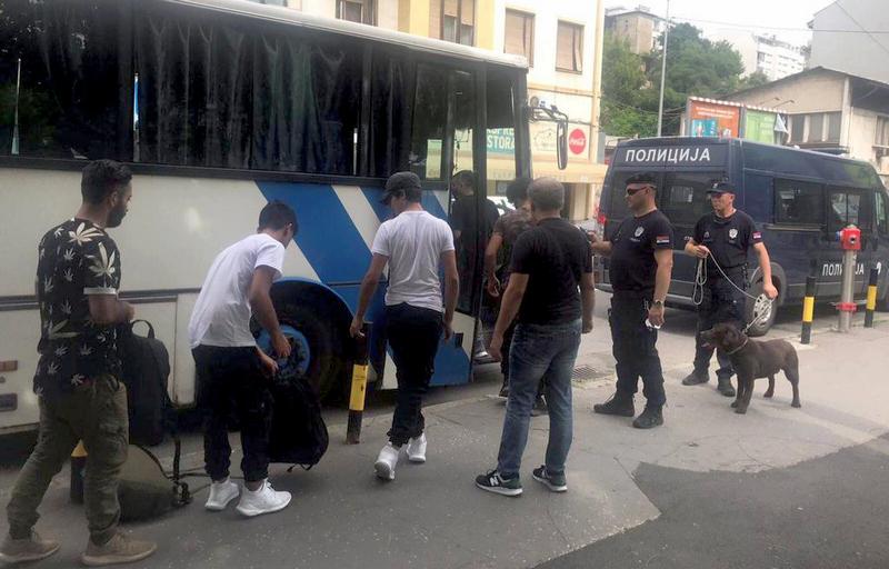 U Prihvatni centar Preševo smešteno još 90 migranata