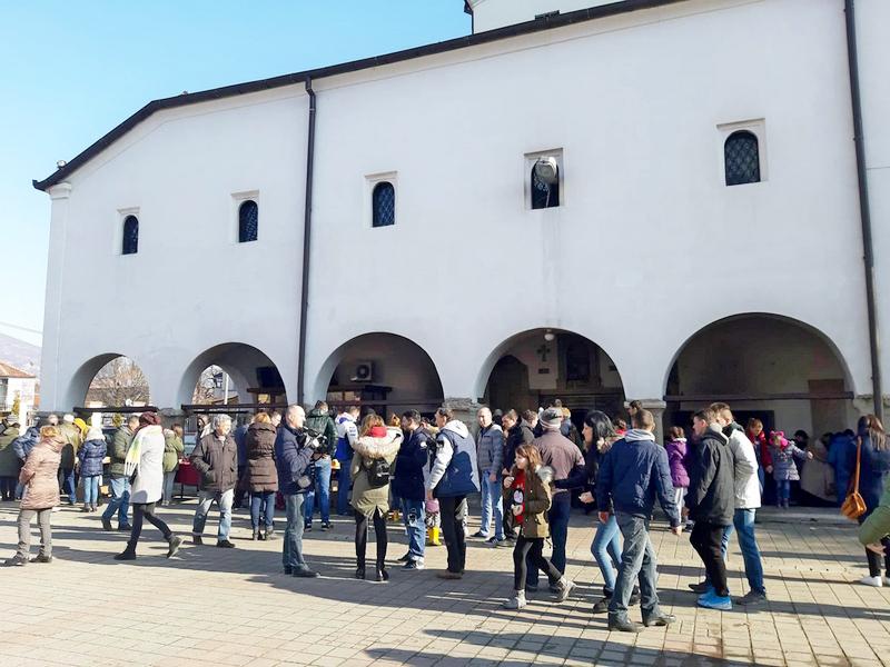 Slava grada Vranja i trpeza ljubavi za vernike