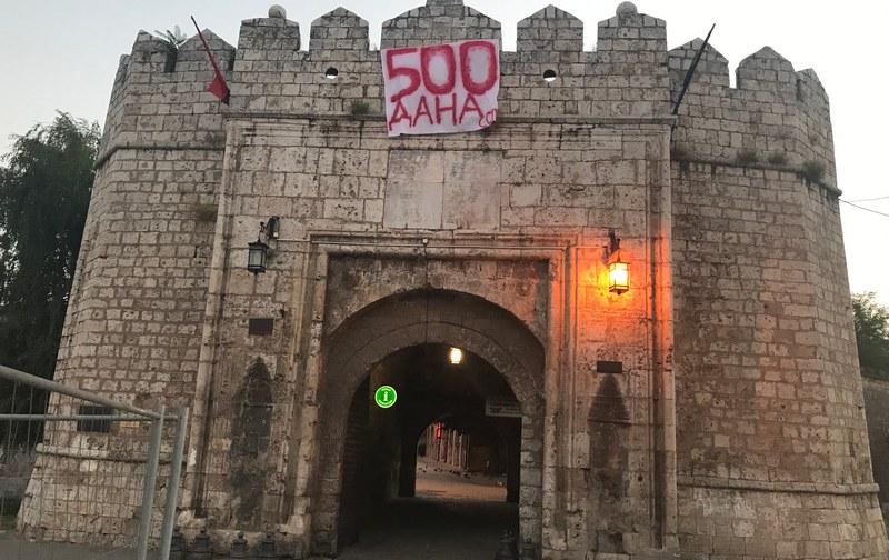 Obeleženo 500 dana od početka rekonstrukcije Tvrđavskog mosta