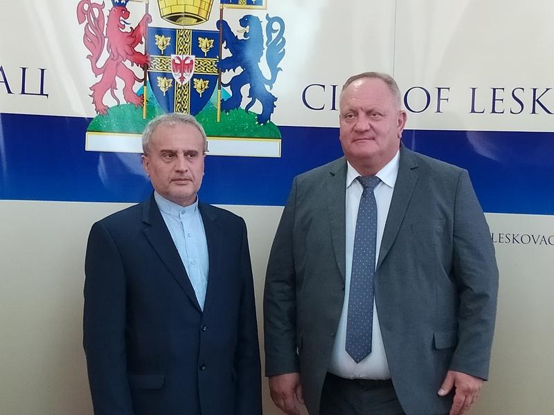 Leskovac: Ambasador Irana razgovarao s predstavnicima tri proizvodne grane, a dogovoreno i pobratimljenje