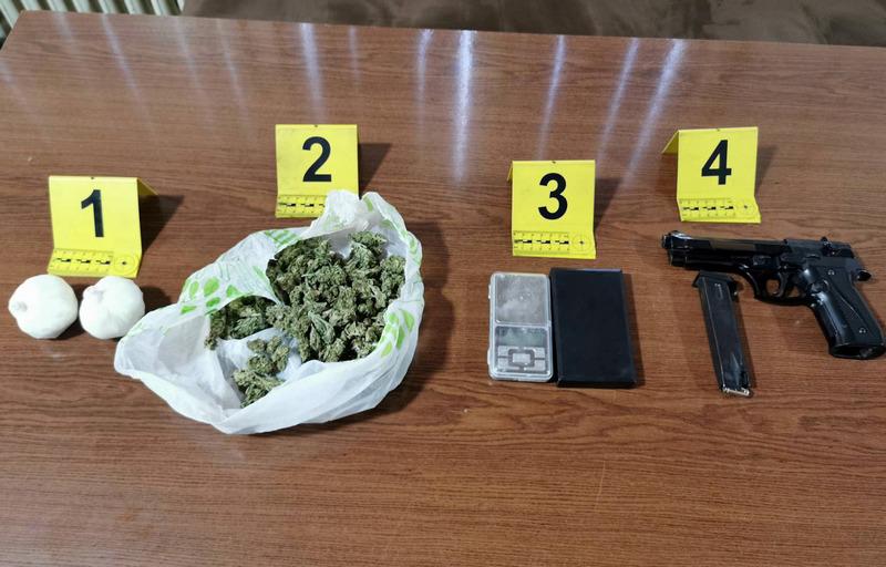 Leskovčanin uhapšen zbog amfetamina, marihuane i pištolja