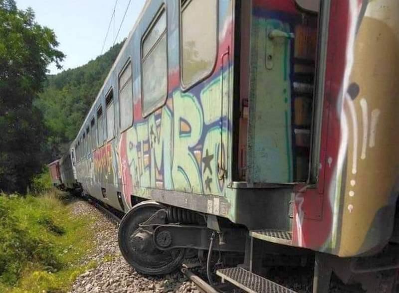 Iz Železnice Srbije demantuju da je voz kod Grdelice ponovo ispao sa šina