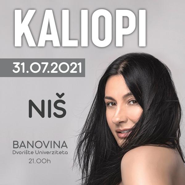 Kaliopi nastavlja turneju, prvi koncert u Nišu krajem jula