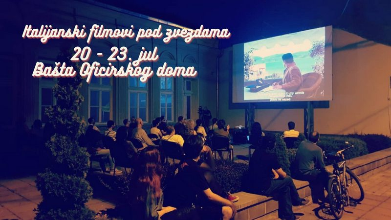 Bioskop na otvorenom od utorka do petka