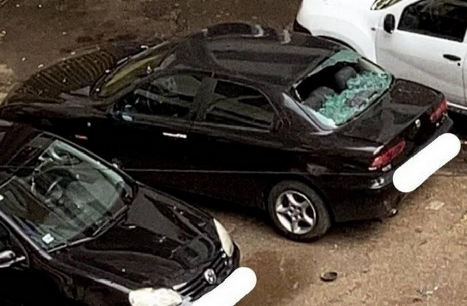 Nevreme u Nišu, padao grad veličine oraha, lomio automobile (foto, video)