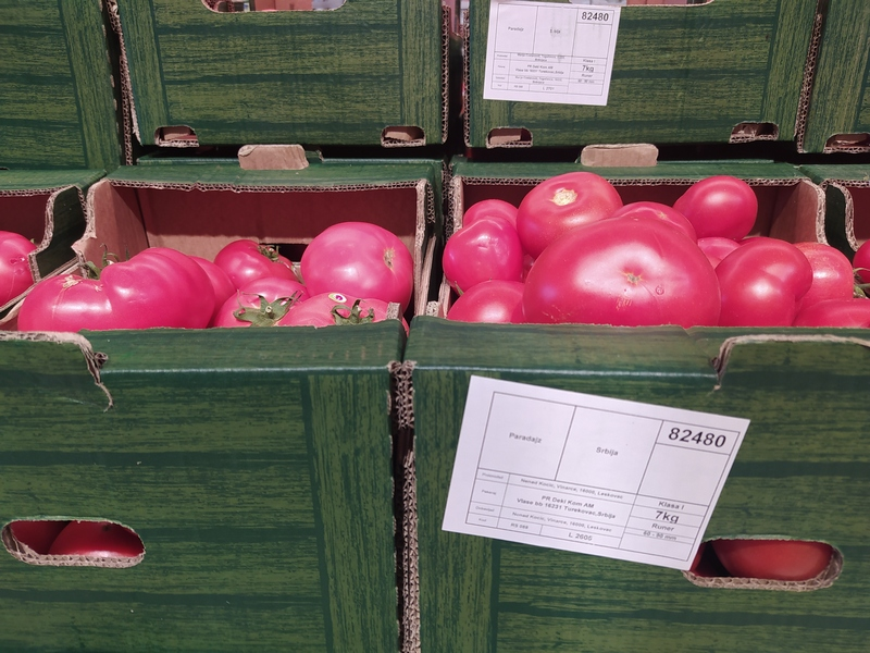 Cene paradajza ubrzo veće, tvrde predstavnici Ministarstva poljoprivrede