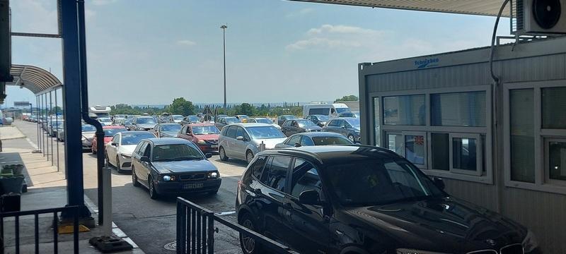 AMSS: Na graničnom prelazu Preševo najduže zadržavanje vozila