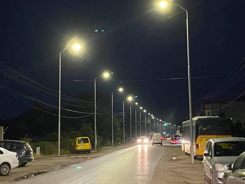 Završeno osvetljenje u ulici Rade Žunića, gradonačelnik najavio i izgradnju trotoara i rekonstrukciju kolovoza