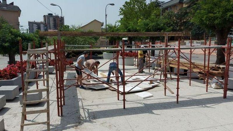 Zahvaljujući nagradnoj igri, Vranjanci rekonstruišu radove na mozaik mapi u gradu