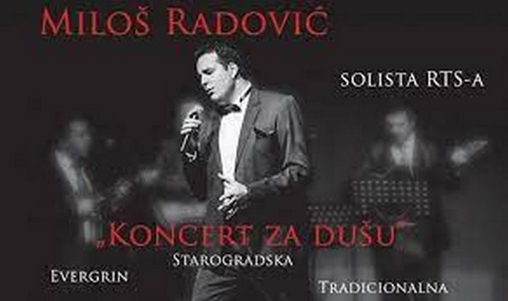 Koncert soliste RTS-a Miloša Radovića u Vučju