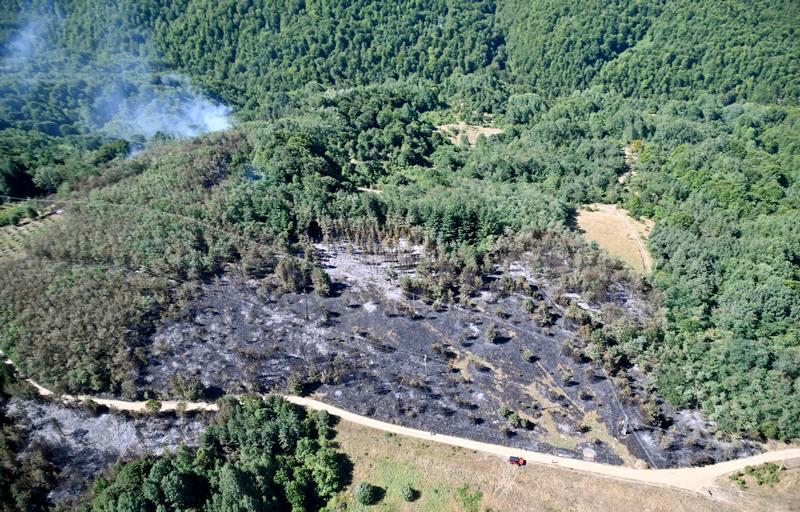 U Pčinjskom okrugu 100 požara za pet dana