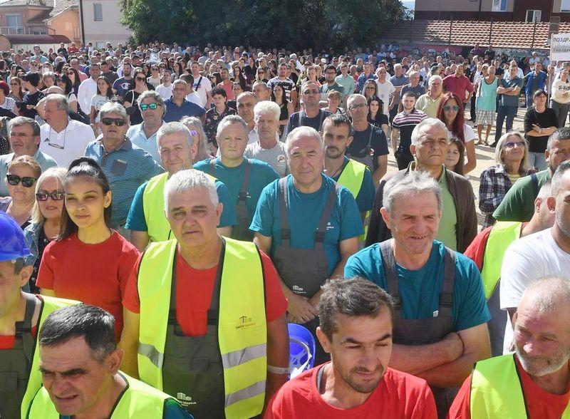 Vućića u Prokuplju dočekalo 1500 ljudi gde je izjavio da je Toplički okrug zapostavljan