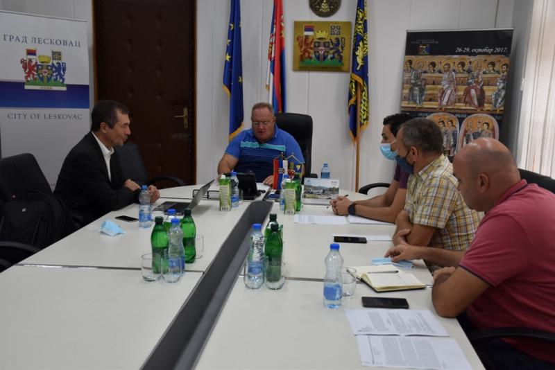 Bez oprečnih stavova na sastanku gradonačlenika Leskovca i izvršnog direktora Aptiva