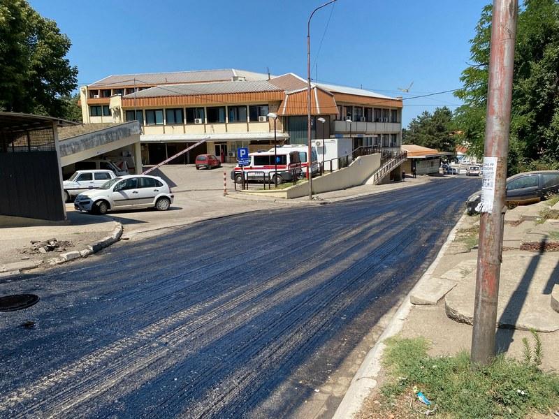 Rehabilitacija kolovoza od 160 metara plaćena 1,3 miliona dinara iz gradskog budžeta