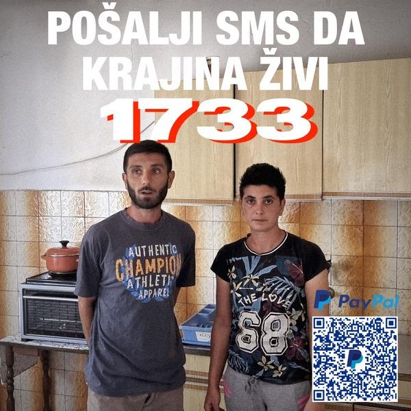 Bratu i sestri iz Dalmacije potrebna naša pomoć: Hoćemo da ostanemo u Krajini