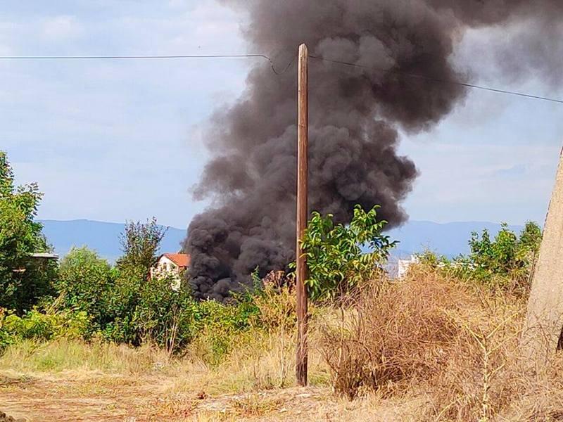 Ponovo gori deponija u Leskovcu (foto,video)