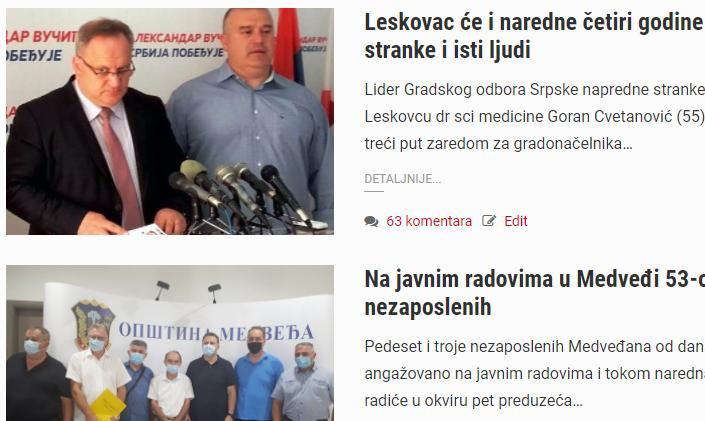 Na današnji dan: SNS i SPS uplovile u drugi mandate, u Leskovcu bilo dvoje zaraženo koronom