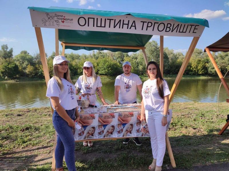 """Na """"Danima porodice"""" opštine Trgovište predstavila svoje aktivnosti za brigu o porodici"""
