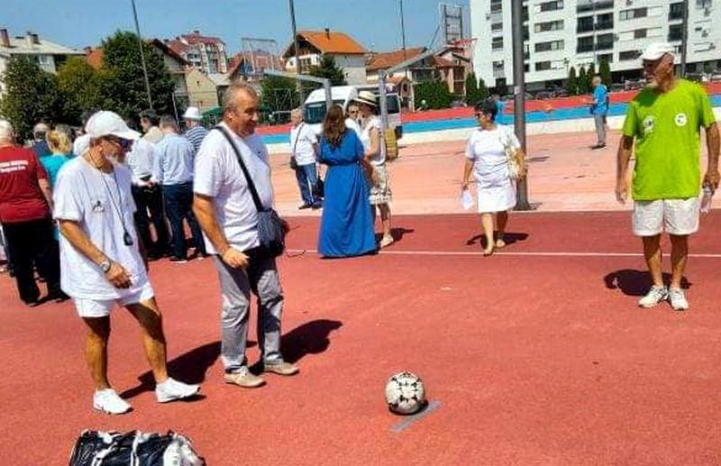 Penzioneri Trgovišta četvrti na Olimpijadi trećeg doba