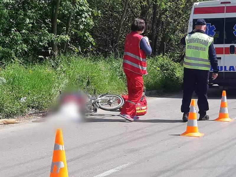 U saobraćajnoj nezgodi povređen biciklista