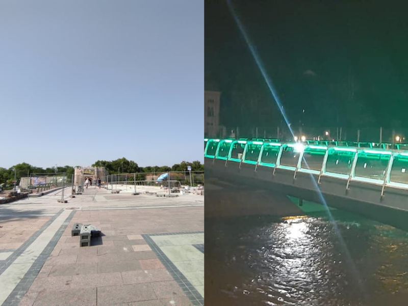 Posle 25 meseci završen Trg, zasvetleo i Tvrđavski most u Nišu