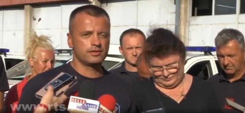 Hrabri vatrogasci se vratili iz Grčke: Nismo znali koje je doba dana i noći