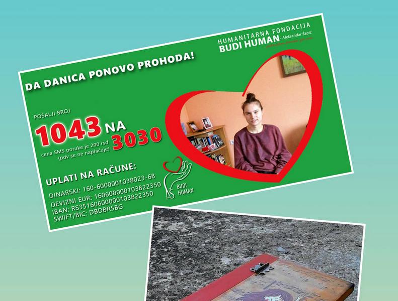 Humanitarni bazar za Danicu
