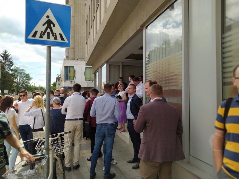 Leskovački advokati protestovali zbog Vrhovnog kasacionog suda u vezi bankarskih kredita