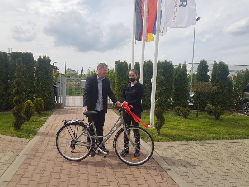 Nagrade za učesnike i bicikle najboljim radnicima Grunera