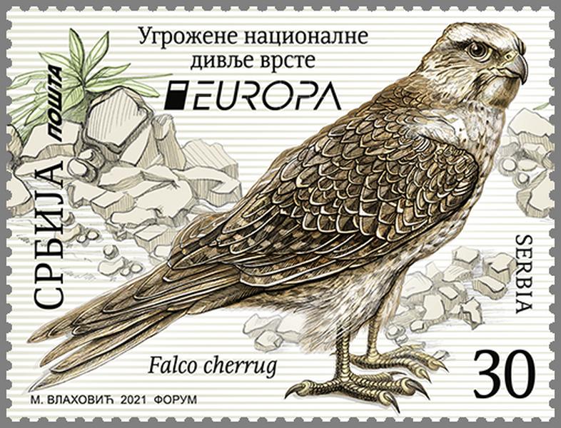 Marka Stepski soko na evropskom izboru za najlepšu poštansku marku, glasanje traje još 7 dana