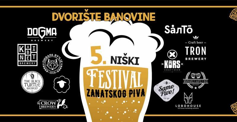 Festival zanatskog piva ovog vikenda u Nišu